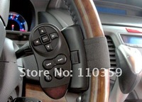 Universal Steering Wheel IR Remote Controller For Truck Car DVD Player GPS TV CD Mp3 New remote control free shipping