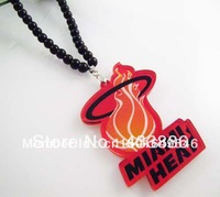 Free shipping The heat team Hot sale Acrylic Jewelry  hip hop Beads  Necklace good necklace   (10pc/lot)