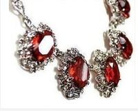 Beautiful baroque big ruby necklace