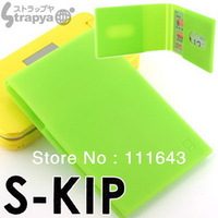 Drop shipping top quality real brand 100% silicone credit bank business name card case box holders wallets 6 colors