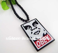 Free shipping Obedience of leaders Hot sale Acrylic Jewelry  hip hop Beads  Necklace good necklace   (10pc/lot)