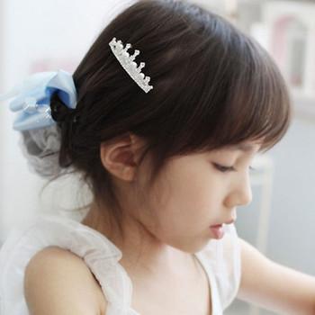 2013 Hot Sale Korea Style Pearl And Rhinestone Hair Jewelry Baby Hair Clips Girls Barrettes Headdress Children Jewelry