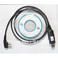 USB Prog Cable for BAOFENG UV-5R/UV-3R II/UV-3R Plus/UV-3R+  Walkie talkie USB frequency Free shipping