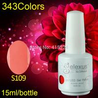 Free Shipping 7Pcs/lot 2014 Hot Sale Gelexus Soak off UV Gel Polish and Salon UV Gel 337 Fashion Colors