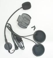 Headset & Clip Set Accessories for V6-1200M  Bluetooth Helmet Interphone Intercom Jack Plug