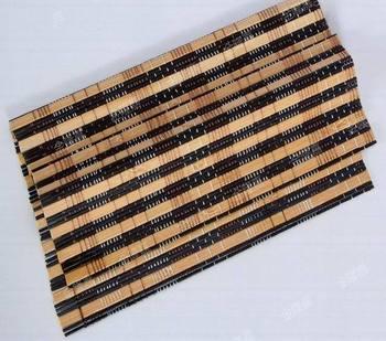Free shipping Kung fu tea accessories tea mat curtain bamboo mat tea Tools