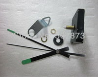 Wholesale and retail DIY wall clock accessories 1set Luminous clock hands Mute scanning clock movement Shaft 20mm