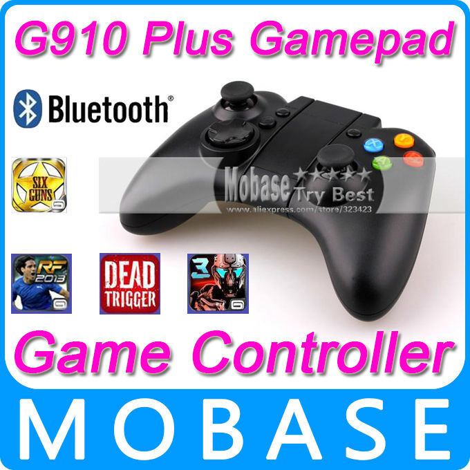 G910 Wireless Bluetooth Game Controller Gamepad Joystick for Android / iOS Cell Phone Tablet PC Mini PC Laptop TV BOX(China (Mainland))