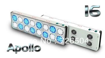 2013 HOT! Apollo 192*3W LED aquarium lamp for saltwater reef, high power led aquarium panel light, CE ROHS PSE FCC certificated