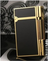 100% new st dupont lighter Dupont lighters broke into rich black gold series
