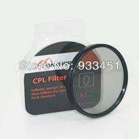 Professional 82mm Circular Polarizer CPL lens Filter