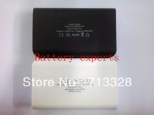 Brand new external battery 8400 mah universal mobile power charger double USB output available!(China (Mainland))