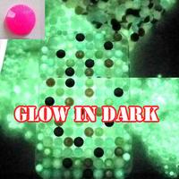 3000pcs Rose Luminous Resin Rhinestones Gems Glow In Dark for Nail Art Tips Decoration 3mm
