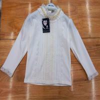 Free shipping children long sleeve girl T-shirt latest children render unlined upper garment of cuhk