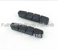 Fullfun Carbon Fibre Wheelset Brake Pads Rubber 2 pairs (4 pieces) Wheels/Rims Ceramic Braking Pads Road Bicycle