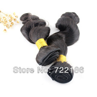 Queen Hair Body Wave 100%  Chinese  Virgin Human Hair  Tangle Free  Tangle Free  Unprocessed Natural Color