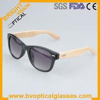 Free shipping Unisex wayfarer Cat Eye 100% UVA UVB bamboo temple sunglasses  (J0193)