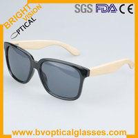 2013 Hot sale fashion free shipping full rim Unisex bamboo temple wayfarer UV400 sunglasses in stock (5120)