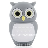 20PCS/LOT Novel lovely Owl USB Flash Pen Drive 4GB 8GB 16GB 32GB 64GB 128GB Free Shipping (Assorted Color)