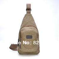 Free shipping Casual bag women's handbag male chest pack sports mobile phone canvas bag man bag