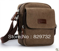 Free shipping Dingxin 2013 new arrival small canvas messenger bag shoulder bag messenger bag male small