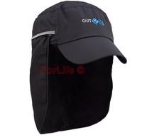 Outdoor Fishing Cap/hat Visor Fishing Camping Cap Mask Face Protect Cap Cover sunbonnet 1pc