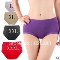 Wholesale  (10 pieces/lot) bomboo fiber women's underwear/ have 4 size to choose, have XXXL