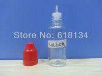 E-cigarette Wholesale Free shipping 15ml dropper bottles PET  childproof -- FEDEX 4-7Days E-cigarette bottle