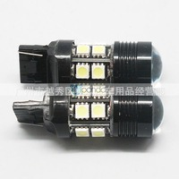 T20 Light Bulb 12 LED DC 12V-30V Car Light Bulb White SMD5050 Cree Q5 Lamp TK0071,Free Shipping