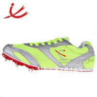 Ultra-light whale running spikes nail shoes track and field spikes running shoes athletics2 sprint spikes green