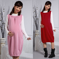 Free Shipping 2013 Autumn New Fashion Maternity Clothing for Pregnant Women Slim Casual Long Dress Maternity Sundress Vest Skirt