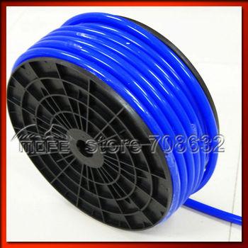 HOT SALE Fixed Price L: 50M Dia: 8MM Universal Original Logo 100% Silicone Vacuum Hose / Tube / Tubing Blue
