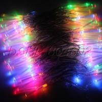 Multi-color 10M Fiber Optic String Fairy Lights Party Wedding light Christmas EU