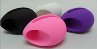 Egg Fashion Design Speaker,Silicone Amplifier Holder for iPhone 4/5,