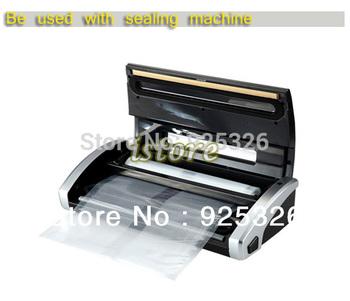 2PCS 28cm x 5m Food Storage Bags Sealing Sealer Rolls Machine Saving System Cryovac Vacuum storage bags  TK0966