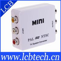 3pcs/lot free shipping Mini pal ntsc converter tv system