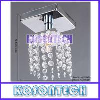 Crystal 1*G9 Pendant Light Lamp 110-120V / 220-240V Free Shipping KS380