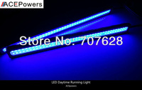 High Power Led DRL Daytime Running Light Blue Color 10W Lamp Fit For Any Car Also Used For License Plate Light