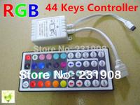Free shipping 12V 44 Keys IR Remote Controller for SMD 3528 5050 RGB LED Light Strip SMD flexible Strip Light