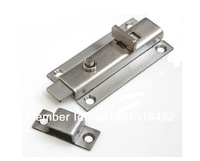 China High Quality Door Bolt  with Spring 304 stainless steel 4 inch Latch for door