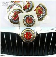Skoda octavia superb fabia full car stickers vintage stereoscopic diy logo emblem