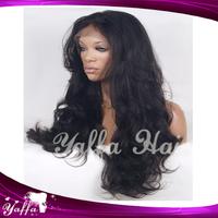 Malaysian Virgin Hair Full Lace Wigs/Front Lace Wigs Beauty Style AAAAA Grade Human Wavy Wigs Bleached Knots for Black Women