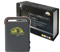 GPS Tracker Mini Global Real Time 4 Bands GSM/GPRS/GPS Tracking / TK-102,Free Shipping