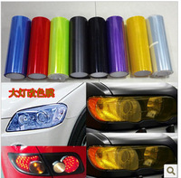 30cm x 120cm Car Sticker Smoke Fog Light Headlight Taillight Tint Vinyl Film Sheet vinyl sticker 8351