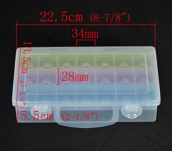 Beads Display Storage Container 2 Layers22.5x13.5x5.5cm (B11577)8seasons