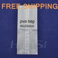 Free shipping fishing tackle 100 pcs Carp fishing carp tackle PVA  bag 85mm*220mm