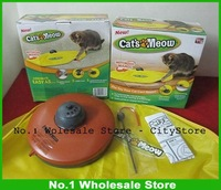 New Arrival! Free shipping 60pcs/lot As Seen on TV UNDERCOVER MOUSE / Cat`s Meow - INTERACTIVE CAT TOY FUN  with 4 Control speed