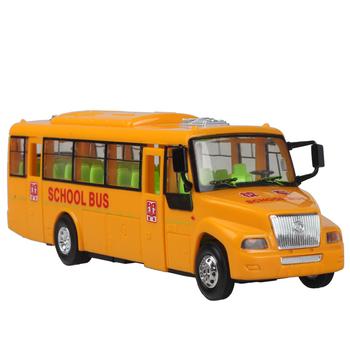 Chyszern light music toy car school bus car toy bus children toy