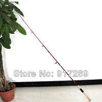 Free mail 1.98 m American way of foreign trade and the rod the red imitation wood raft HaiGan rod rod fishing gear