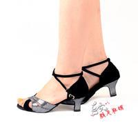 women's ballroom  square dance Latin dance shoes female sandals